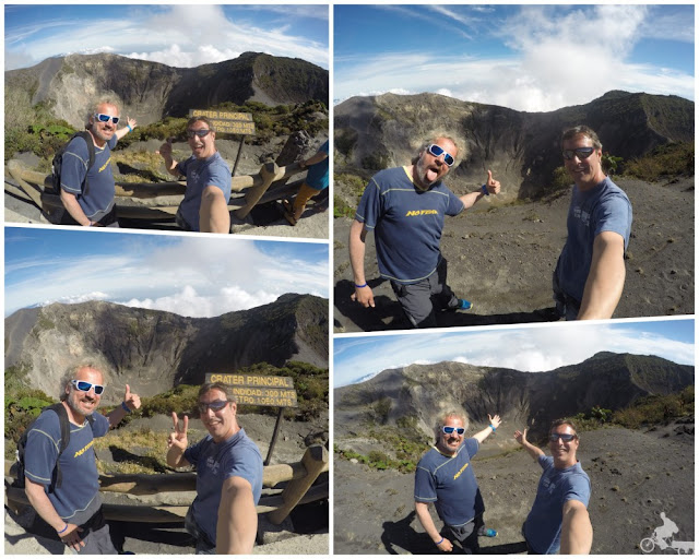selfies crater principal volcan irazu