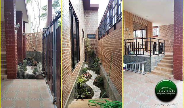 Rumah Tepi jalan Aspal dekat SD Model