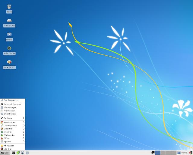 Lançada a segunda versão Beta da distribuição Salix Live Xfce 14.2!