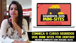 Curso Segredos   dos Mini Sites Como Criar sua Estrutura Profissional