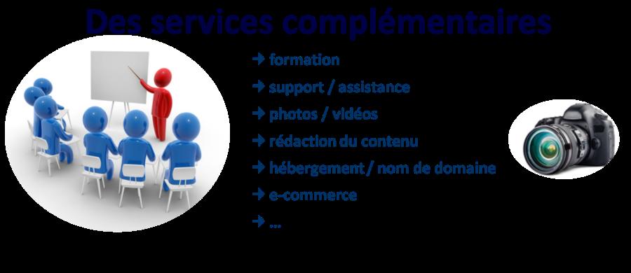 Des services complémentaires