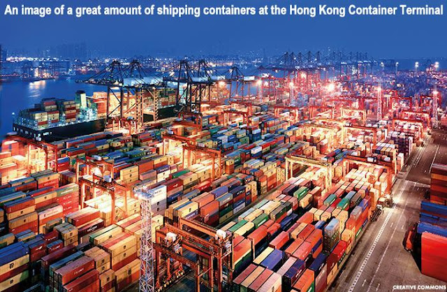 Image Attribute:  An image of a great amount of shipping containers at the Hong Kong Container Terminal./ Creative Commons