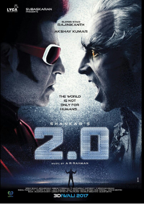 2.0 Rajinikath VS Akshay Kumar Poster