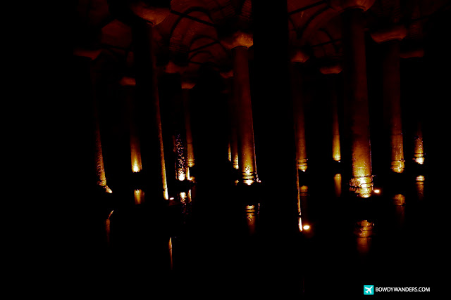 bowdywanders.com Singapore Travel Blog Philippines Photo Basilica Cistern: Look Back at Medusa without Turning into Stone