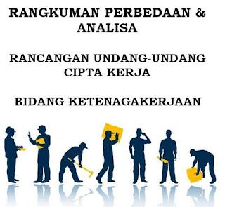 Rangkuman Perbedaan UU No 13 Tahun 2003 Dan RUU Cipta Kerja Tahun 2020 (OMNIBUS LAW)