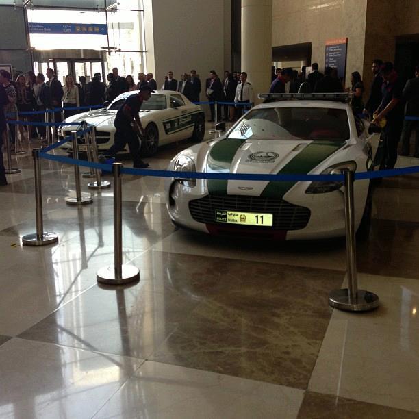 Photo: Pics Of Dubai Police Aston Martin One-77