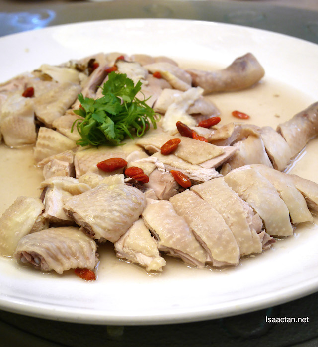 Steamed Village Chicken with Chinese Herb