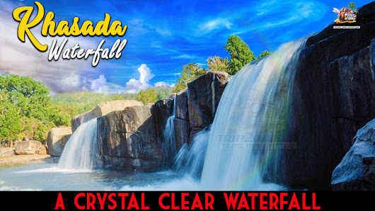 Khasada Waterfall,Gajapati | Best for bathing in crystal water | Picnic place