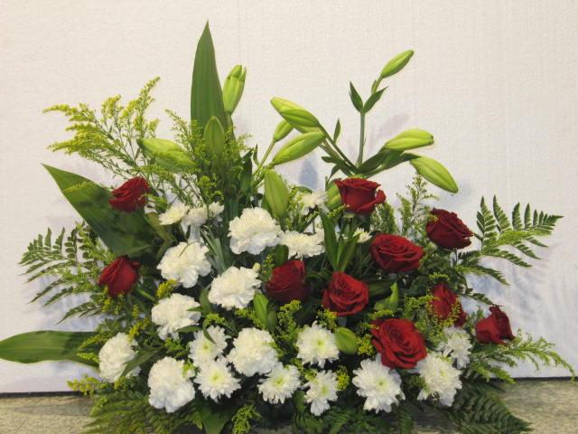 Rangkaian Bunga Bentuk Oval Koleksi Rangkaian Bunga