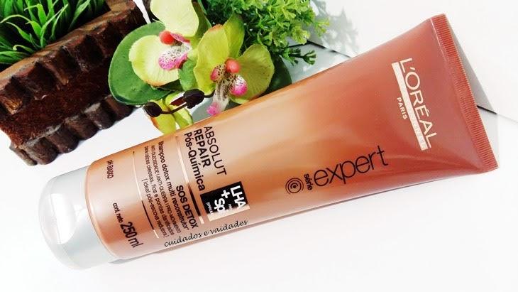 Absolut Repair Pos Quimica SOS Detox Shampoo