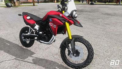 Download Mod moto BMW F800 para PC Fraco para GTA San Andreas , GTA SA Jogo PC