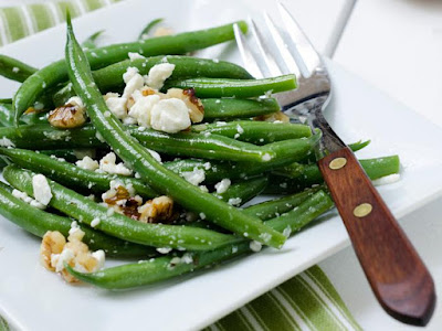 Tired of your family refusing to eat green beans Lebanese Green Bean Salad Recipe