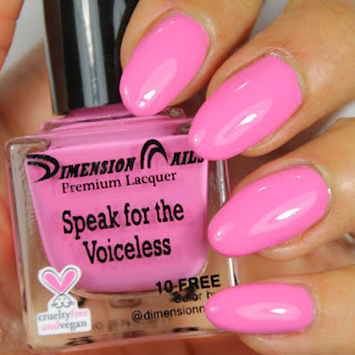 Dimension Nails in Speak for the Voiceless