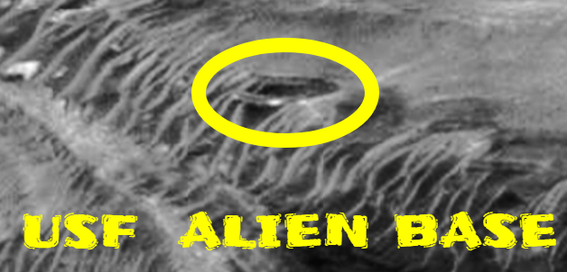 Alien base found on Mars.