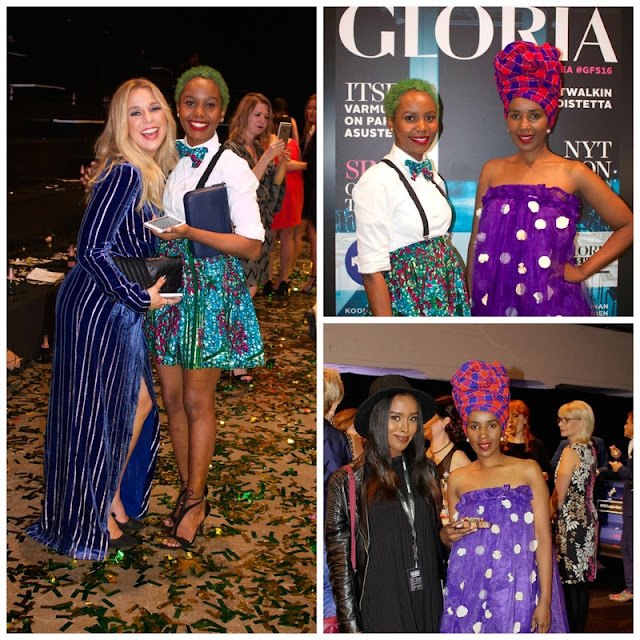 attendees of the gloria fashion show 2016