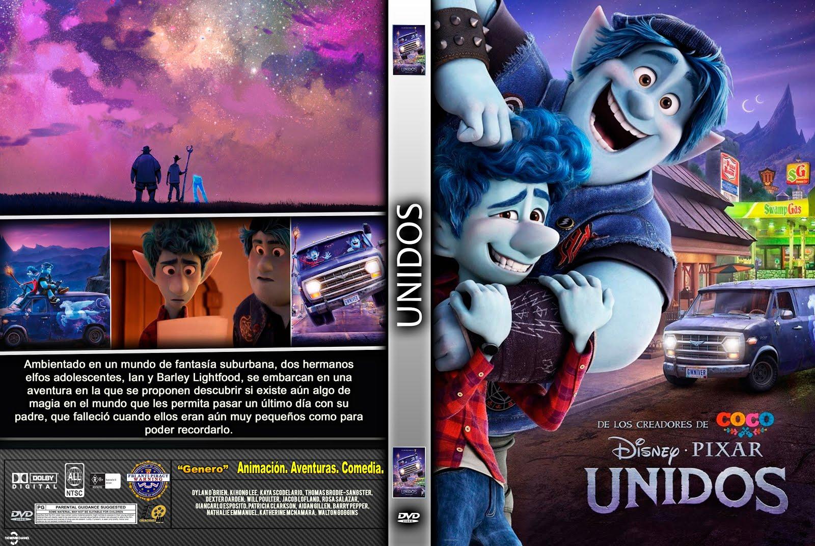 CARATULA dvd Onward UNIDOS