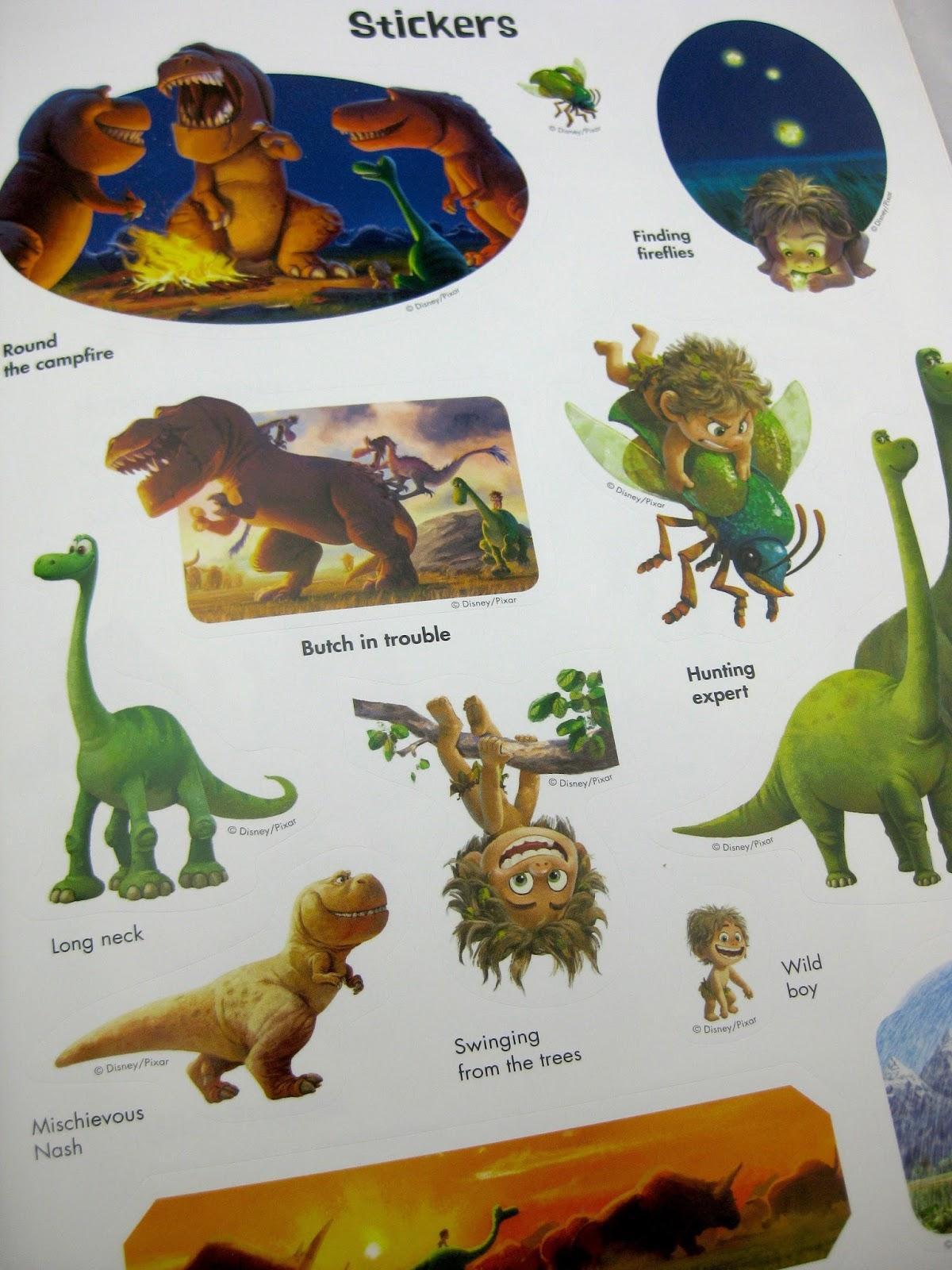 Dan The Pixar Fan The Good Dinosaur Ultimate Sticker Book