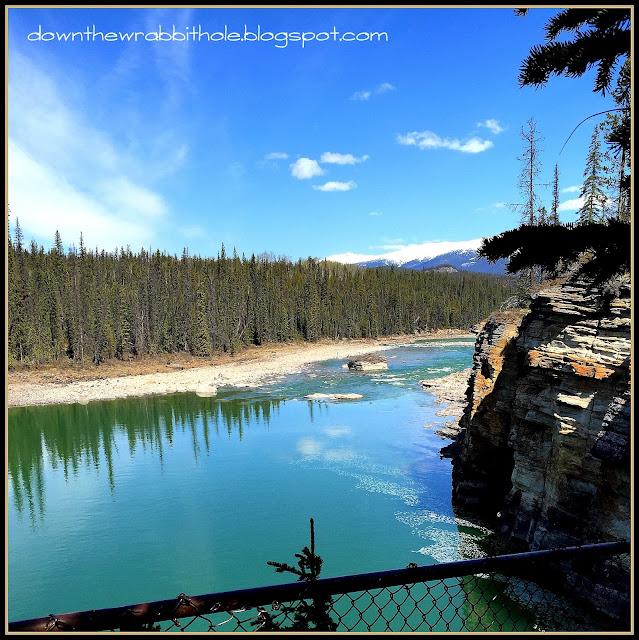 athabasca falls canada