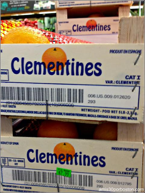Frutas Españolas en los Comercios de Massachusetts