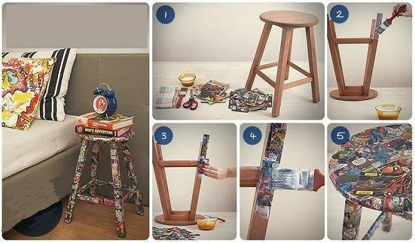 Como decorar a casa gastando pouco reciclar e decorar - Reciclar objetos para decorar ...