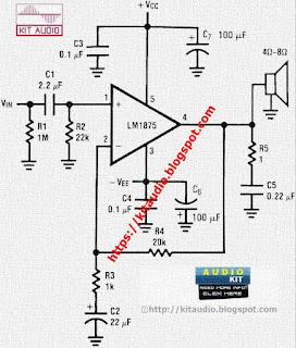 LM1875 POWER AMPLIFIER 20 WATT