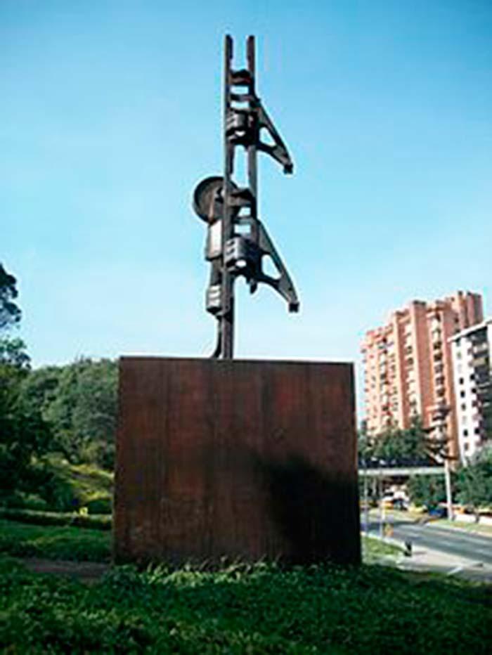 """""""Homenaje a Gandhi"""" de Feliza Bursztyn"""