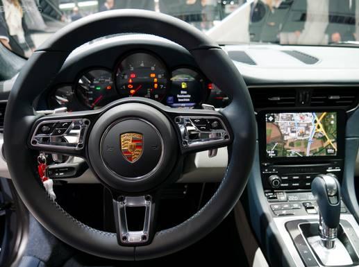 2017 Porsche 911 first drive Interior