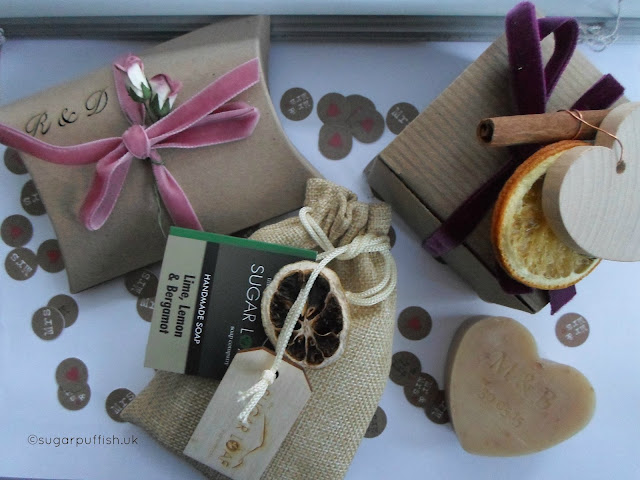 Natural and Organic Wedding Favours Sugarloaf Soaps
