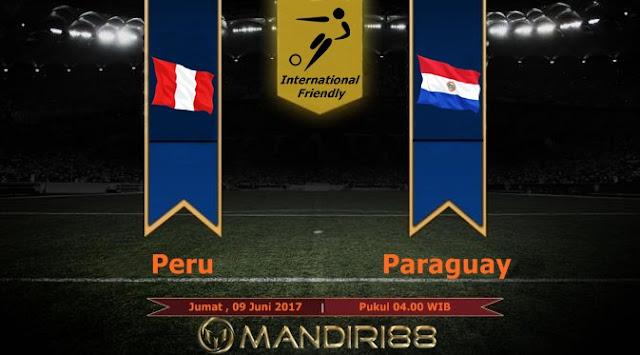 Prediksi Bola : Peru Vs Paraguay , Jumat 09 Juni 2017 Pukul 04.00 WIB