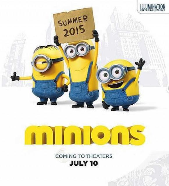 Cartel promocional de la película Los Minions