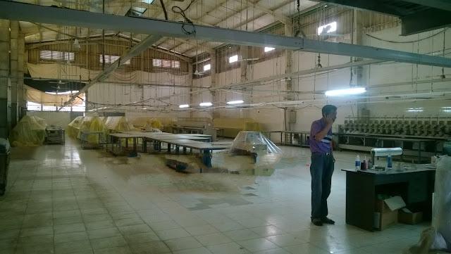 Cho thuê xưởng may 900m2 nền gạch men phường Hiệp Thành, Q12