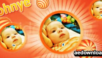 Baby or Kids Gallery - VideoHide - After Effects Templates