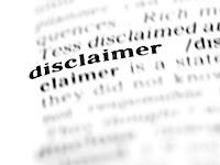 Cara Simple Membuat Disclaimer untuk Blog
