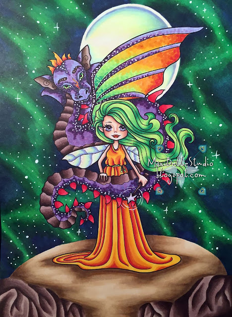 Faery Ink Victorious & the Dragon Kit & Clowder Create & Learn