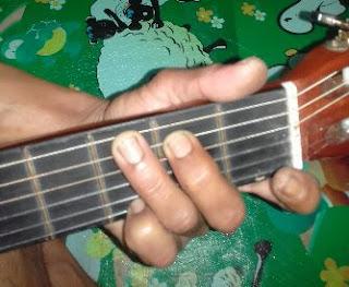 Chord gitar dasar G mayor