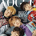 170315 EXO for Vogue Korea April Issue: Chen, Baekhyun, Xiumin and Suho Preview