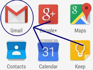Como faço pra enviar um email pelo aplicativo do celular