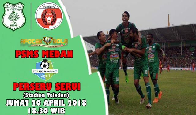 Prediksi PSMS vs Perseru Serui 20 April 2018