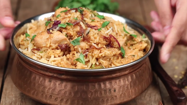 How to make Delicious Chicken Biryani