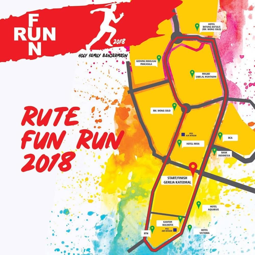 Rute Holy Family Fun Run • 2018