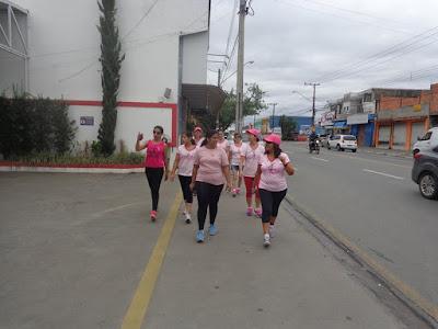 3ª Caminhada ACER Outubro Rosa em Registro-SP neste 29/10