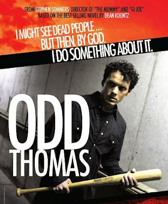 Poster Of Hollywood Film Odd Thomas (2013) In 300MB Compressed Size PC Movie Free Download At worldfree4u.com