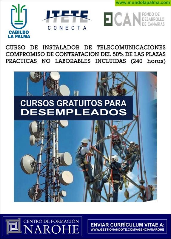 El Cabildo formará a personas desempleadas en instalación de telecomunicaciones