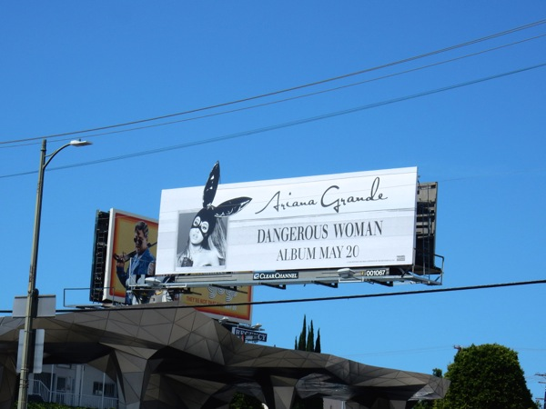 Ariana Grande Dangerous Woman extension billboard