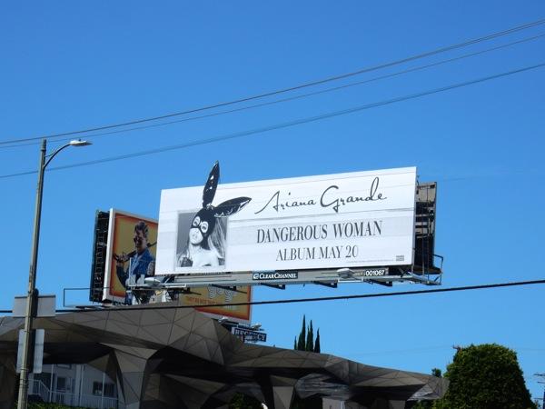 Ariana Grande Dangerous Woman extension billboard