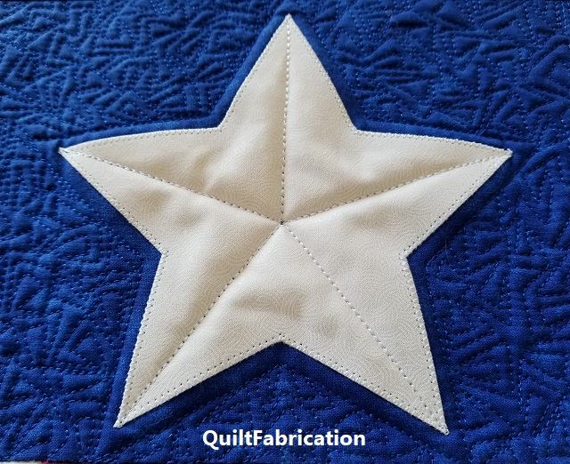 Salute runner star quilting