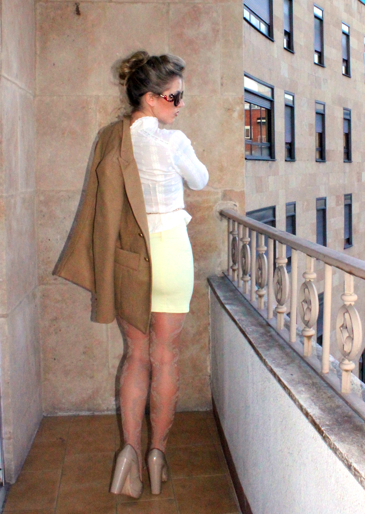 Fabulous Dressed Blogger Woman Girl From Spain