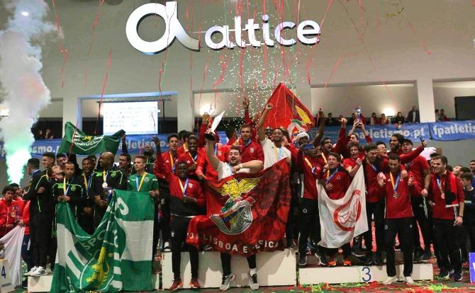 Blogs Benfica campeão nacional de atletismo pista coberta