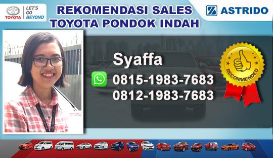 Rekomendasi Sales Astrido Toyota Pondok Indah Jakarta Selatan