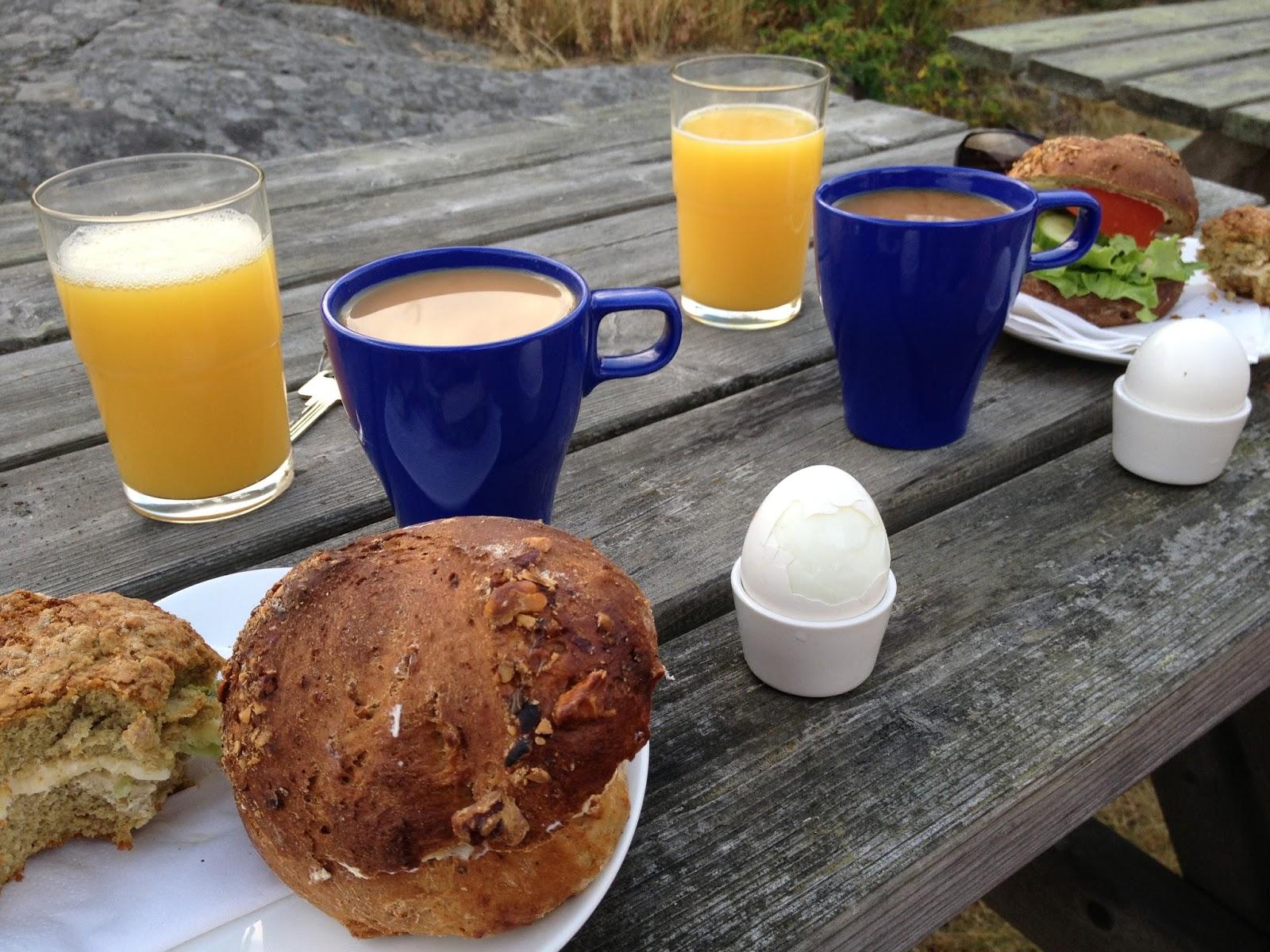 mader med æg